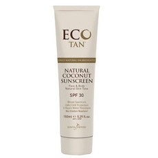 Eco Tan Natural Coconut Sunscreen