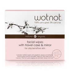 WOTNOT Facial Wipes - Oily/Sensitive