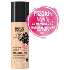 Lavera 10 hr Mineral Foundation - Ivory Light 01