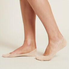 Boody Women's Low Hidden Socks - Blush