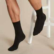 Boody Men's Business Socks - Black