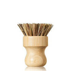 Life Basics Round Pot Brush (Hard)