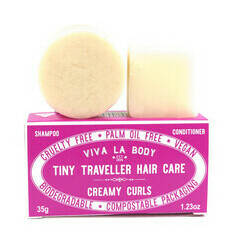 Tiny Traveller Shampoo & Conditioner - Creamy Curls