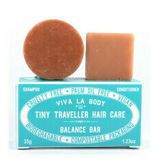 Viva La Body Tiny Traveller Shampoo & Conditioner - Balance Bar