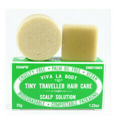 Viva La Body Tiny Traveller Shampoo & Conditioner - Scalp Solution
