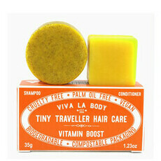 Viva La Body Tiny Traveller Shampoo & Conditioner - Vitamin Boost