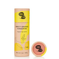 Vegan Lip Balm - Sweet Orange Tangerine