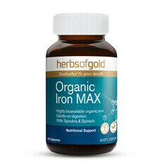 Herbs of Gold Organic Iron MAX