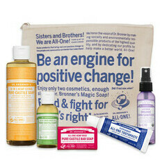 Dr Bronner's Follow the Rainbow Travel Pack