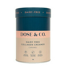 Dose & Co Dairy-Free Collagen Creamer - Caramel