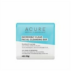 Acure Incredibly Clear Facial Cleansing Bar