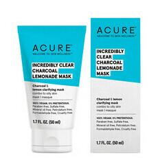 Acure Incredibly Clear Charcoal Lemonade Mask