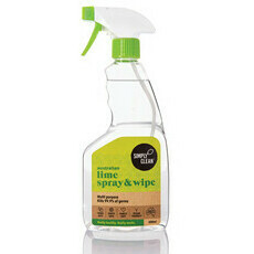 SimplyClean Australian Lime Spray & Wipe