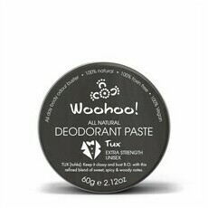 Woohoo All Natural Deodorant Paste Tin - Tux