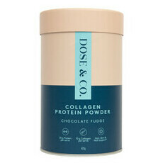 Dose & Co Collagen Protein Powder - Chocolate Fudge