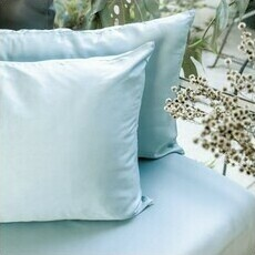 ettitude Sateen Pillowcase Set - Starlight Blue