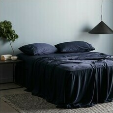 ettitude Sateen Sheet Set - Ocean