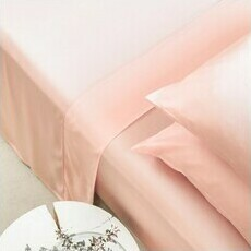 ettitude Sateen Sheet Set - Cloud Pink