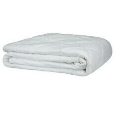 Bamboo Mattress Protector - White