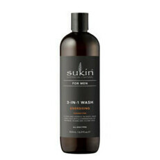 Sukin 3-In-1 Energising Body Wash For Men