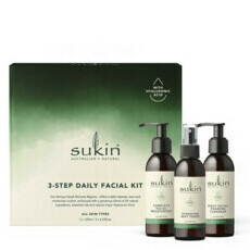 Sukin 3-Step Daily Facial Kit