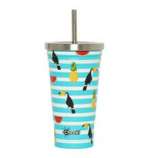 Cheeki Insulated Tumbler - 3D Toucan