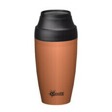 Cheeki Insulated Coffee Mug - Rust