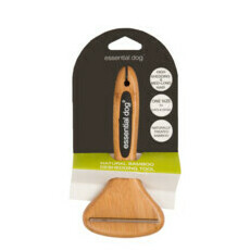 Natural Bamboo Deshedding Tool for Cats & Dogs
