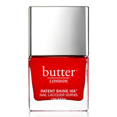 Butter London 8-Free Patent Shine 10X Nail Lacquer - Her Majesty's Red