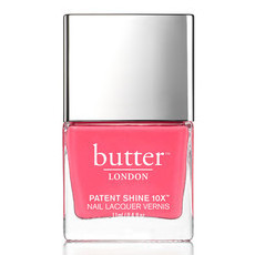 Butter London 8-Free Patent Shine 10X Nail Lacquer - Flusher Blusher