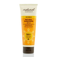 Natural Instinct Invisible Natural Sunscreen SPF30