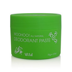 Woohoo! All Natural Deodorant Paste - Wild