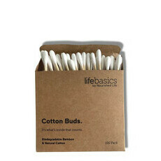 Bamboo Stem Organic Cotton Buds