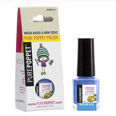 Pure Poppet Natural Kids Nail Polish - Bon Bon Blue
