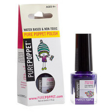 Pure Poppet Natural Kids Nail Polish - Poppety Purple