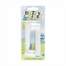 Jack N' Jill Buzzy Brush - Replacement Heads 2 Pack