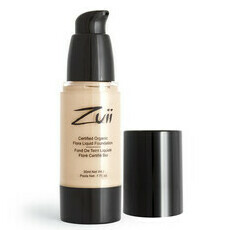 Zuii Flora Liquid Mineral Foundation - Olive Light