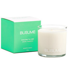 Blisume Scented Candle - Coconut & Lime