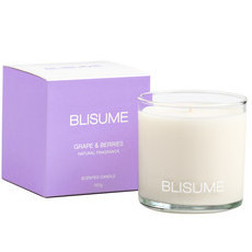 Blisume Scented Candle - Grape & Berries