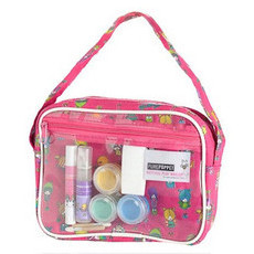 Pure Poppet Kids Natural Play Make Up Bag - Pink