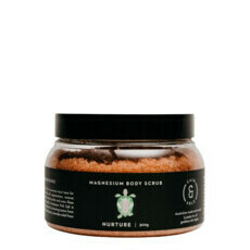 Caim & Able NURTURE Magnesium Body Scrub - Rose & Frankincense