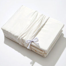 Life Basics Eco Bamboo Sheet & Pillow Set - White