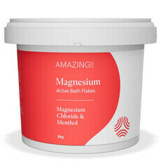 Amazing Oils Magnesium RECOVERY Bath Flakes