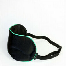 Black Chicken Remedies Featherlite 100% Silk Eye Mask