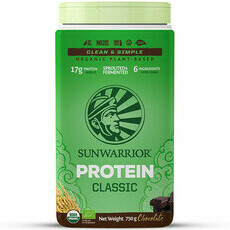 Sunwarrior Classic Raw Vegan Protein Powder - Chocolate