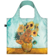 Loqi - Reusable Shopping Bag - VINCENT VAN GOGH Vase with Sunflowers