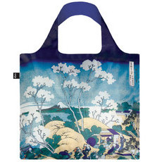 Loqi - Reusable Shopping Bag - HOKUSAI Mt. Fuji