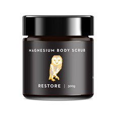 Caim & Able RESTORE Magnesium Body Scrub - Coffee & Clementine