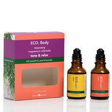 ECO. Body Tone & Relax Magnesium Rollerball Duo