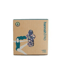 hannahpad Organic Reusable Large/Overnight Pad - Single